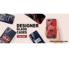 Buy Stylish & Premium Glass Mobile Cover For Your Xiaomi Smartphone at Shutcone.com