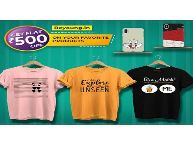 Buy Trendy Printed Clothing and Moblie Covers Online India at Beyoung