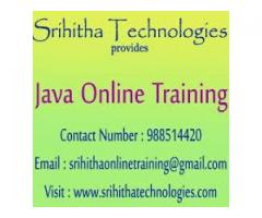 Java Online Training Institute in India