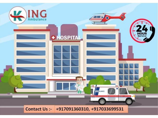 Take King Road Ambulance Service in Ranchi with Full Hi-tech ICU Setup