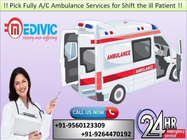 Take the Best Opportunity by Medivic Road Ambulance Service in Sitamarhi
