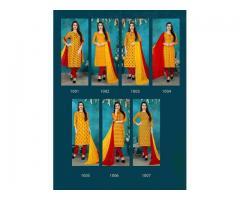 Manufacturer and wholesaler of Cotton Royal Red designer salwar suit-Royal Red