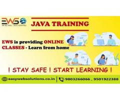 Java Online Training Classes Available