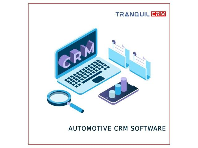 Best Sales CRM software for Lead management from Tranquil