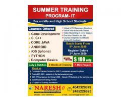 Summer IT Training Program In San Francisco