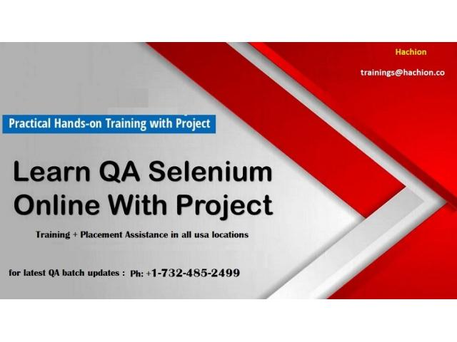 QA Live Online Trainings