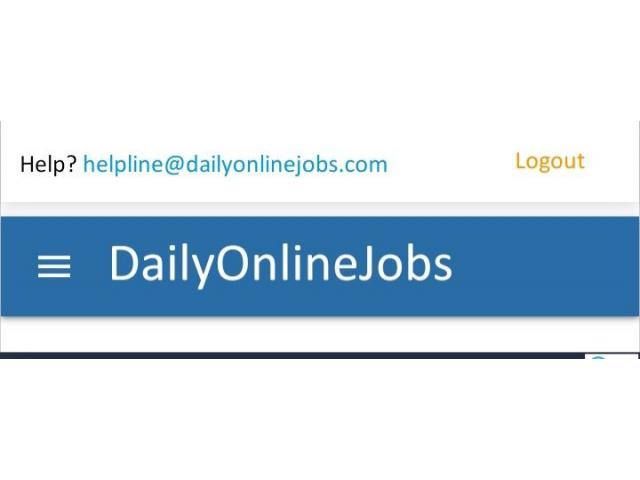 Simple online copy paste job