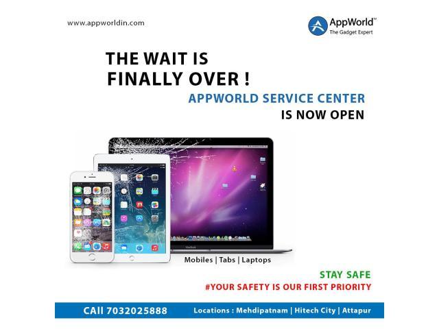 iPhone Service Repair Center Mehdipatnam @AppWorld