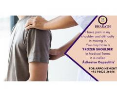 Orthopedic specialist in chennai: Dr. Bharath