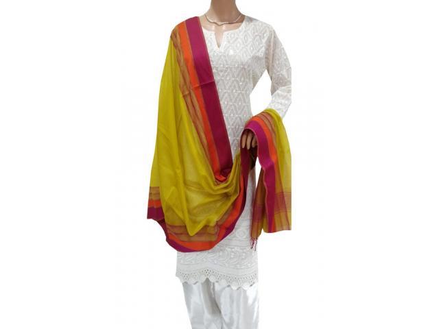 Buy Maheshwari Dupattas Online for Women   Luxurionworld