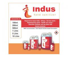 Indus Alcohol Based Hand Sanitizers  For Sale