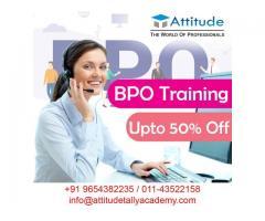 Joined the Institute for Best BPO Training in Uttam Nagar