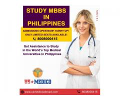 Study MBBS in Philippines for Indian Students – Get Admission Assistance from US Medico