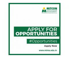 Apply For Opportunity - MITCON Institute of management in Pune