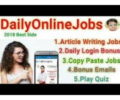 We are Hiring - Earn Rs.25000/- Per month - Simple Copy Paste Jobs