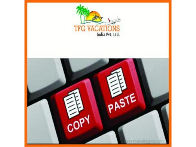 Candidates required as Tourism Promoter for a Tourism Company