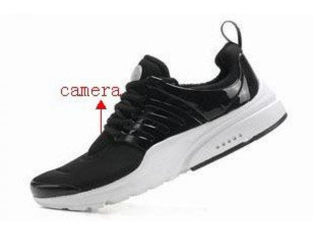 1280X960 Sports shoes Hidden Camera With Motion Detection and Remote Control 16GB