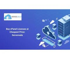 Buy cPanel Licenses at Cheapest Price: Serverwala