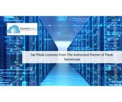 Get Plesk Licenses From The Authorized Partner of Plesk: Serverwala