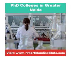 Best PhD College in Greater Noida