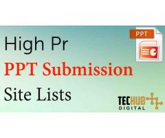 Top Ppt Submission Sites
