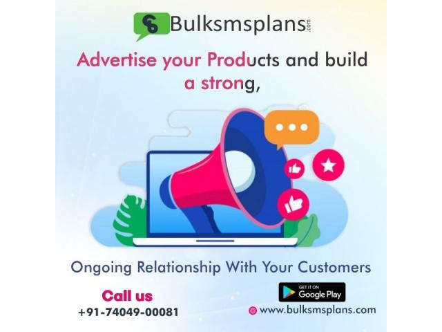 Reach thousands of customers with bulk sms service.