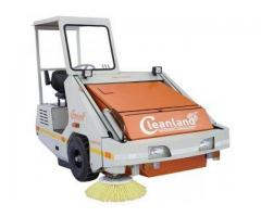 Extra-wide sweeping and proven low maintenance