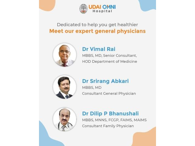 General Medicine Doctors Hospitals - Udaiomni Hospitals