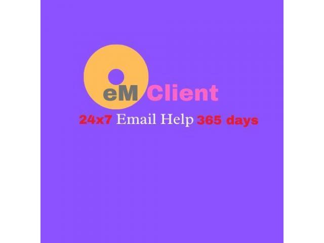 eM Client 1-800-875-8836 Email Helpline Number