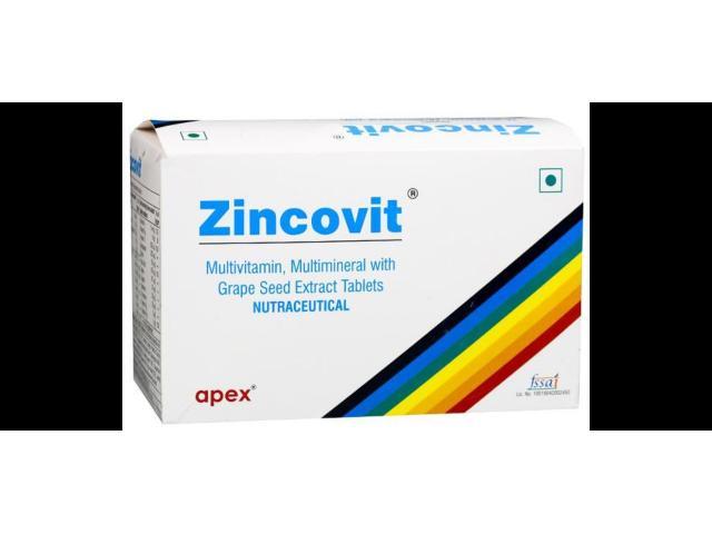 Buy Zincovit Tablet From SastaSundar And Boost Your Immunity
