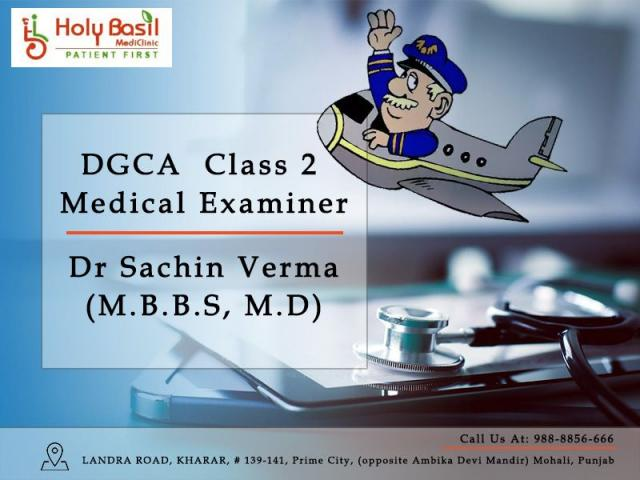 DG Shipping Approved Medical Examiner   DGCA Class 2 Medical