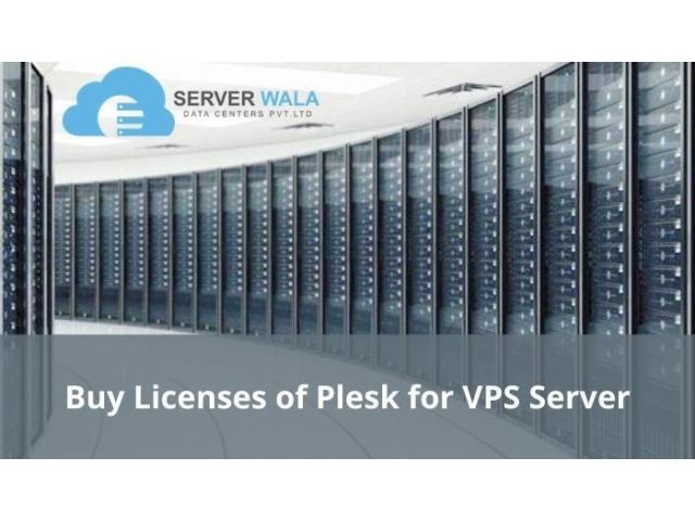 Buy Licenses of Plesk for VPS Server