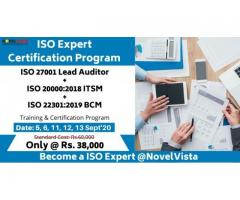 ISO Lead Auditor Certification Training by NovelVista