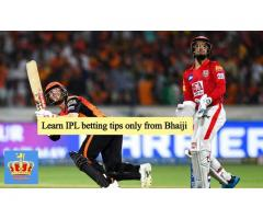 Learn IPL betting tips only from Bhaiji