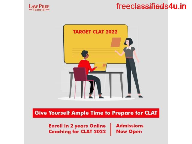Online Course for CLAT 2022 | Admission Open | Law Prep Tutorial
