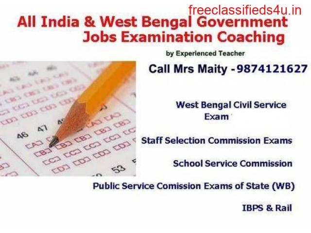 Combined Course For Govt. Service WBCS, PSC, IBPS, RAILWAY Exams