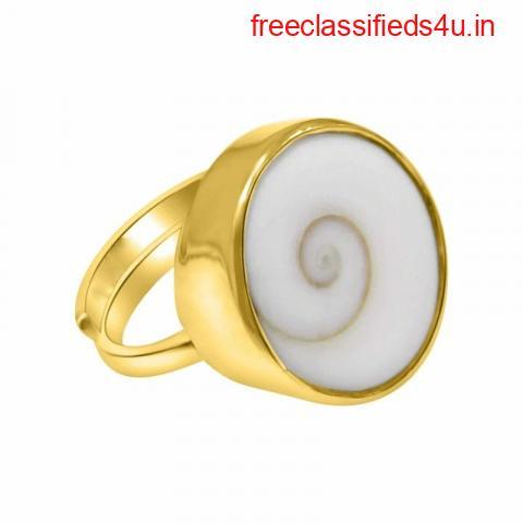 Aemorio Natural Gomti Chakra Ring for Men & Women
