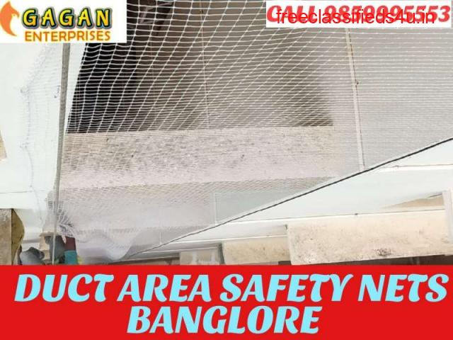 DUCT AREA SAFETY NETS | DUCT BIRD NETS | DUCT BIRD NETS BANGALORE