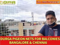 pigeon nets safety nets | pigeon nets for balcony | durga nets call 9742262247
