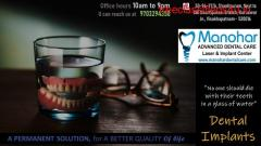 Manohar dental care Dental doctors in vizag