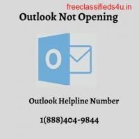 Outlook Not Opening 1(888)404-9844 Outlook Helpline Number