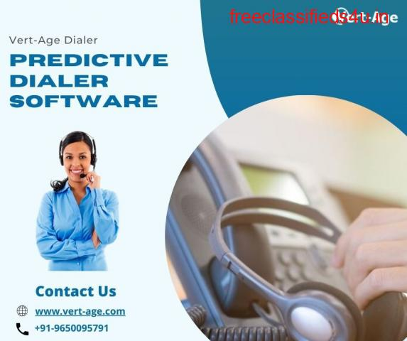 Predictive Dialer or Predictive Dialer Software for calling process.