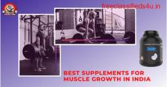 Best supplements for muscle growth in India