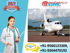 Book a Cost-Effective Exigency Air Ambulance Services in Indore by Medivic