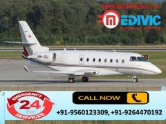 Select Precise Emergency Air Ambulance Services in Jamnagar by Medivic