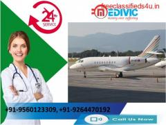 Use Incredible Air Ambulance Services in Jamshedpur with Skilled Doctor