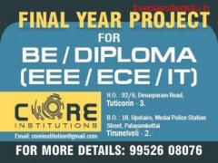THE BEST ENGG PROJECT CENTER IN THOOTHUKUDI