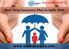 Best Term Insurance Plan in India 2021
