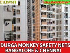 Monkey  nets for balconies installation nets Bangalore