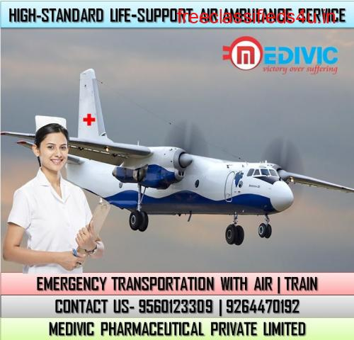 Specialist ICU Care by Medivic Air Ambulance Services in Bhubaneswar